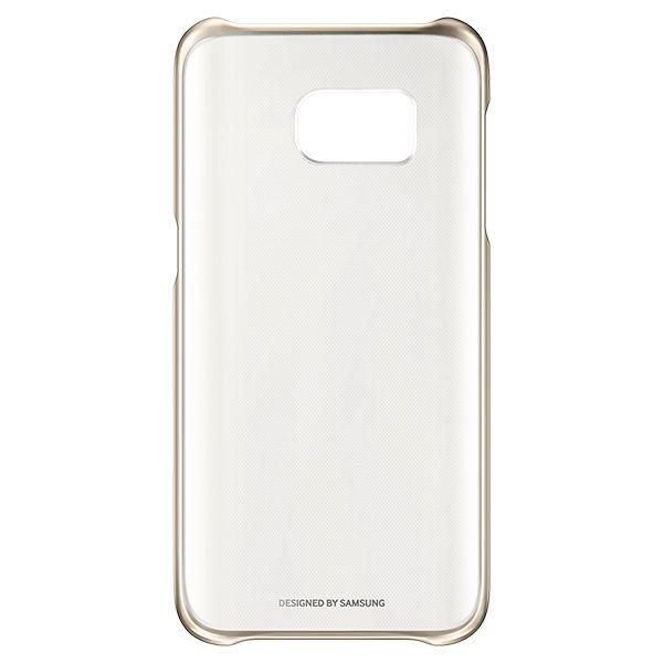 """Ovitek za Mobilnik Samsung Clear Cover EF-QG935 5.1"""" Zlata"""