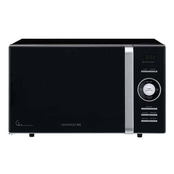 Mikrohullámú Sütő Grillsütővel Daewoo KOG-8A6K 23 L 800W Fekete