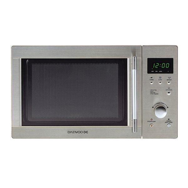 Mikrohullámú Sütő Grillsütővel Daewoo 800W 23 L Ezüst