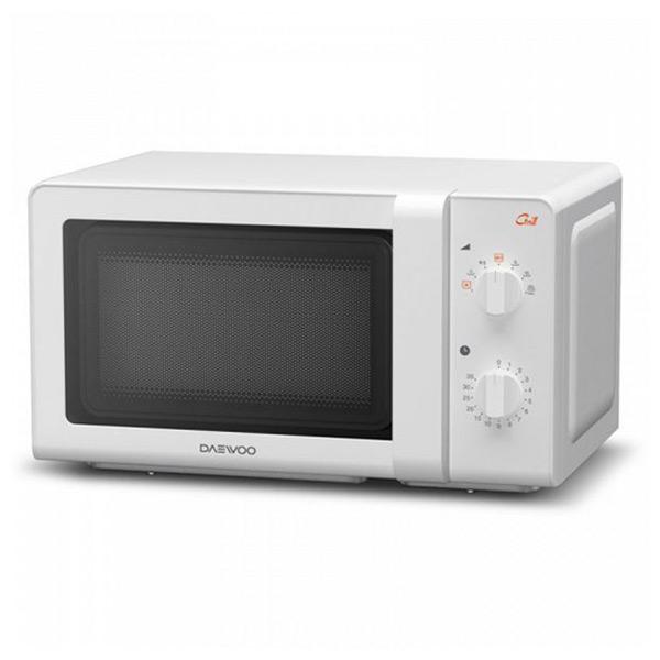 Mikrohullámú Sütő Grillsütővel Daewoo KOG-6F27 20 L 700W Fehér