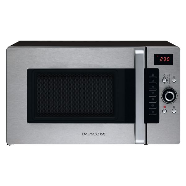 Mikrohullámú Sütő Grillsütővel Daewoo 1400W 28L Inox Acél