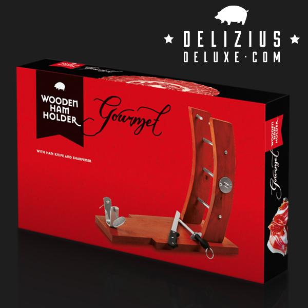 Soporte Jamonero Gourmet Delizius Deluxe (3)