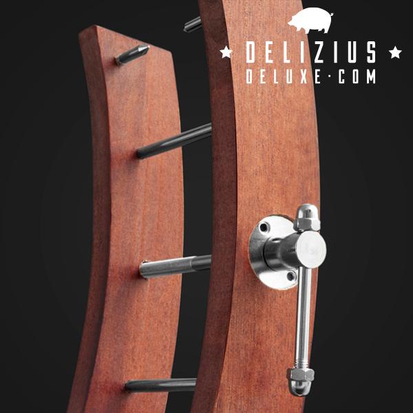 Soporte Jamonero Gourmet Delizius Deluxe (2)