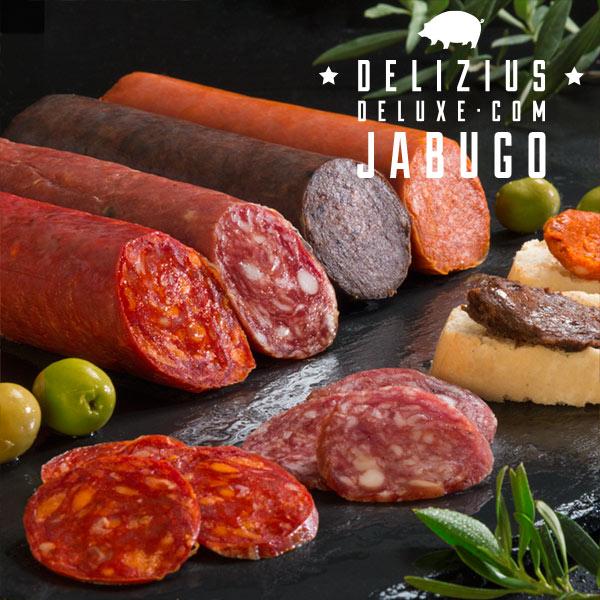 Lote Jamón + Embutidos + Jamonero Elegance + Cuchillo (6)