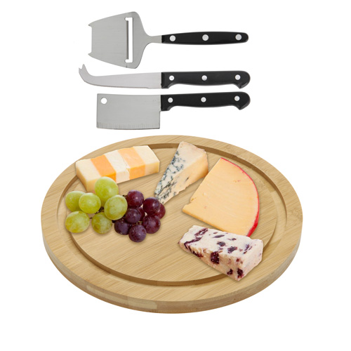 Set Bamb £ Cutting<br>Cheese (4 pieces)