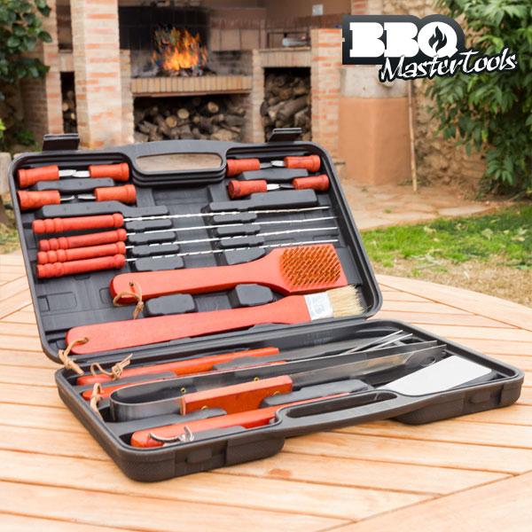 BBQ Master Tool Set v Kovčku (18 kosov)