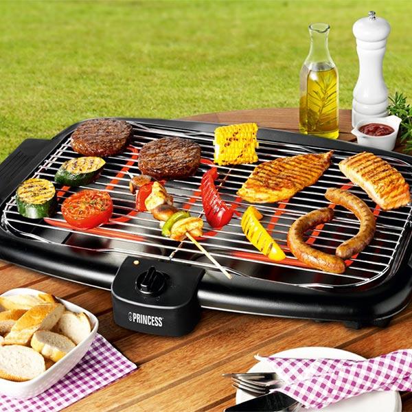Princess 112248 Elektromos Barbecue Sütő 2000W