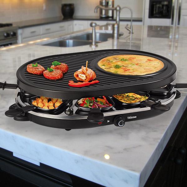 Tristar RA2996 Raclette Grill és Palacsintasütő 1200W