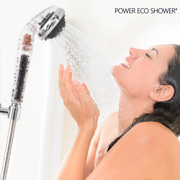 Power Eco Shower Večnamenski Tuš s Turmalinom in Germanijem