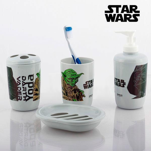 Dodatki za kopalnico Star Wars (4 kosi)
