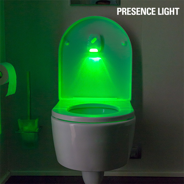 InnovaGoods Indicatore Luminoso per Servizi igienici Presence Light