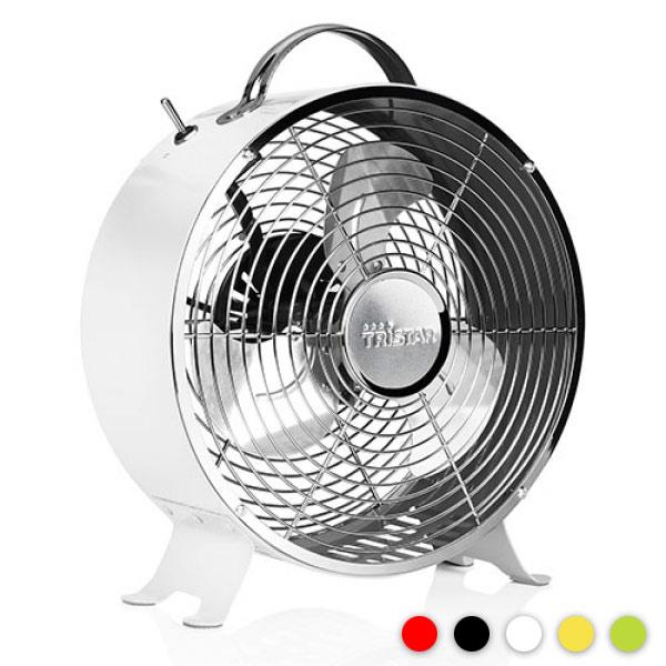 Ventilador Retro Metalico Tristar VE5964 Amarillo D2010123