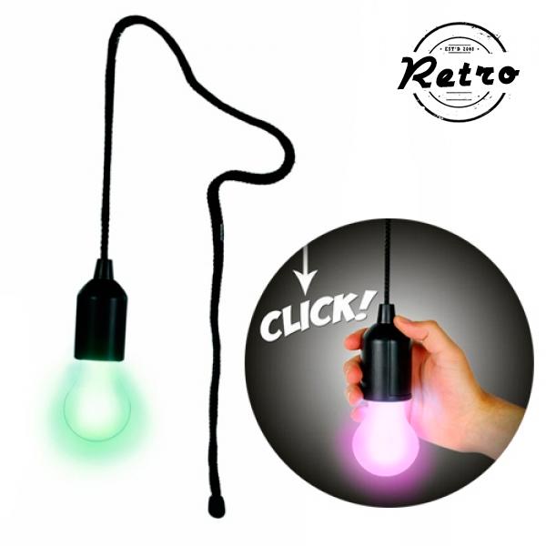 Többszínű Retro LED Izzólámpa