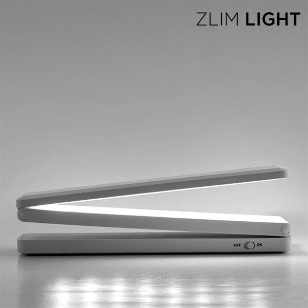 Zlim Light Összehajtható Mini LED Lámpa USB-vel