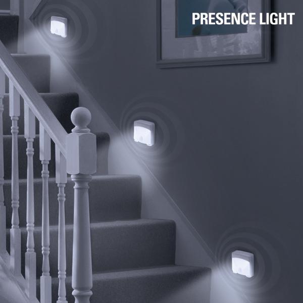 LED Luč S Senzorjem Gibanja Presence Light