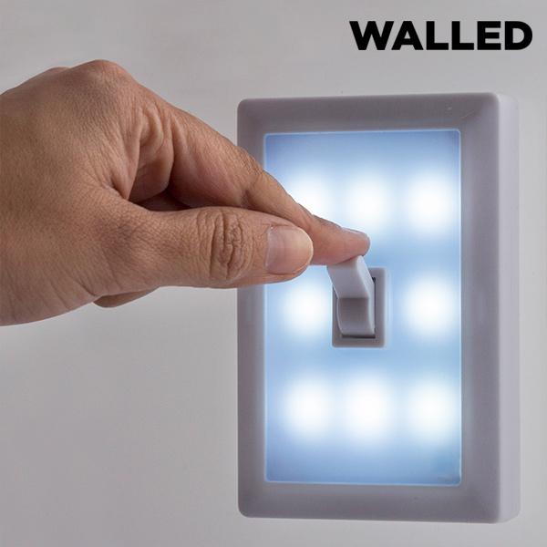 Walled SW15 Hordozható LED Világítás Kapcsolóval