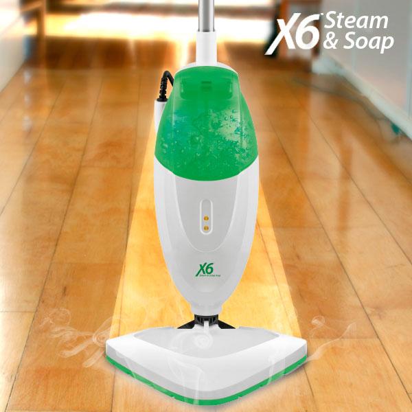 Parni Čistilec Steam & Soap X6