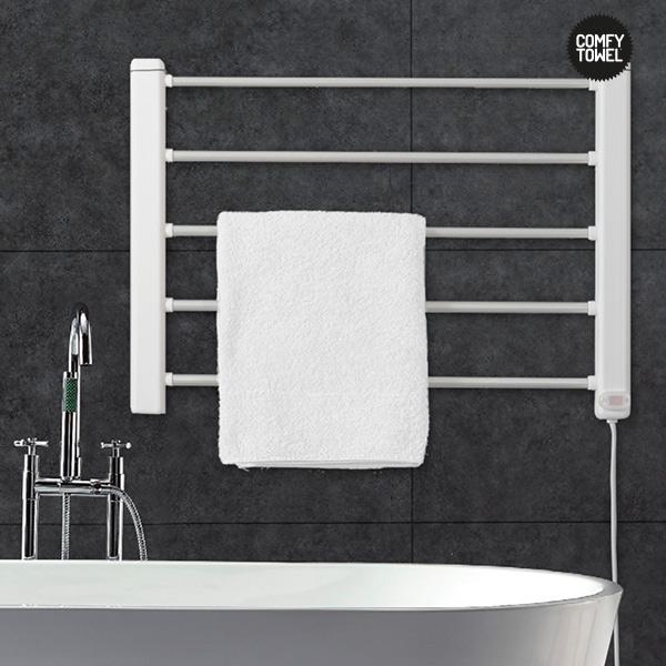 Comfy Towel Električni Obešalnik za Brisače