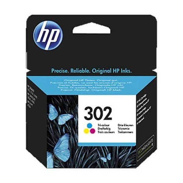 HP 302 F6U65AE barvna kartuša Officejet 3830
