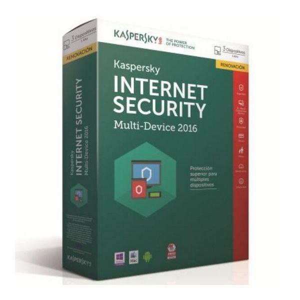 Kaspersky Int.Security Multi-Device 2016 3L/1Leto RN