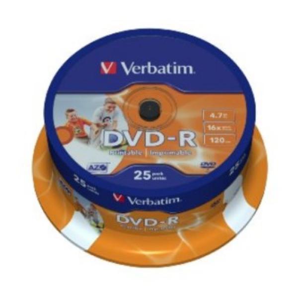 DVD-R Verbatim 43538 4.7 GB 16x 25 pcs