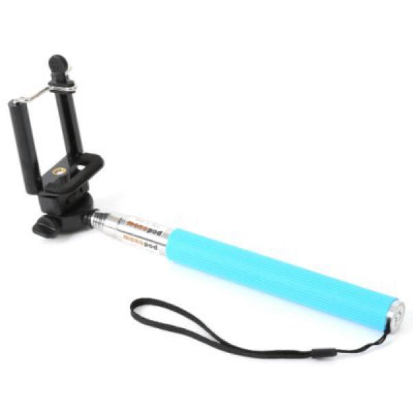 Palo de Selfie Extensible Omega OMMPKB 29 - 115 cm Azul