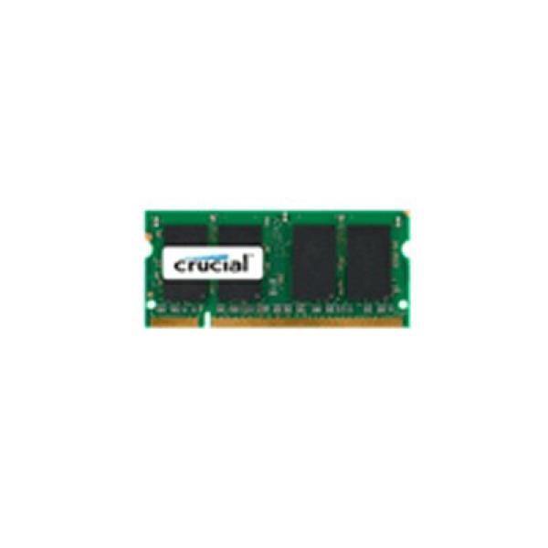Memoria RAM Crucial IMEMD20046 CT25664AC800 SoDim 2 GB DDR2 800 MHz CL6
