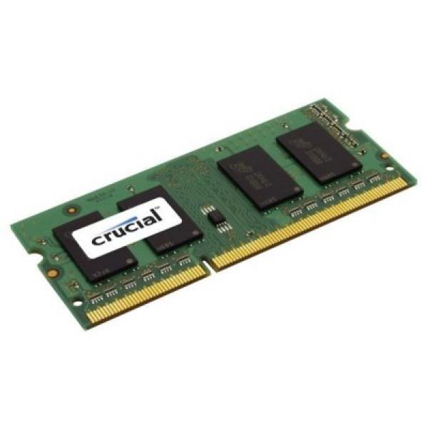 Memoria RAM Crucial CT4G3S1067MCEU SoDim 4 GB DDR3 1066 MHz MAC