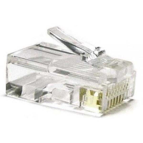 Connettore RJ45 Categoria 5 UTP NANOCABLE 10.21.0101 10 pcs Grigio 8433281001428  02_S0202904