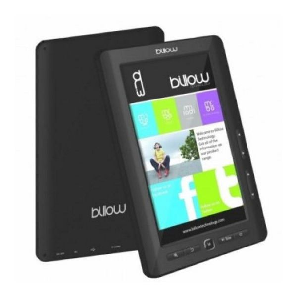 Billow E2TB Color Book reader 7'' 4GB Črni
