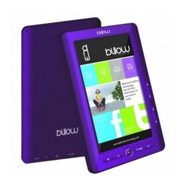 Billow E2TP Color Book reader 7'' 4GB Vijoličasti