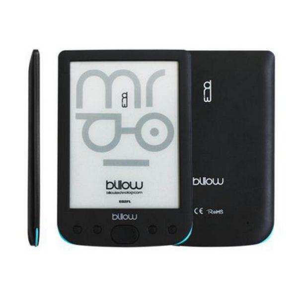 Billow E02FL eBook reader 6'' E-Ink 4GB Lučka Siva