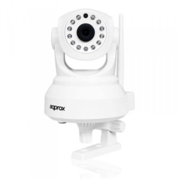 Fotocamera IP approx! APPIP02P2P HD 720 p P2P Wifi Bianco 8435099518788  02_S0203072