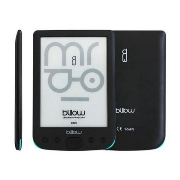 Billow E02E eBook reader E02E 6'' E-Ink 4GB Črni