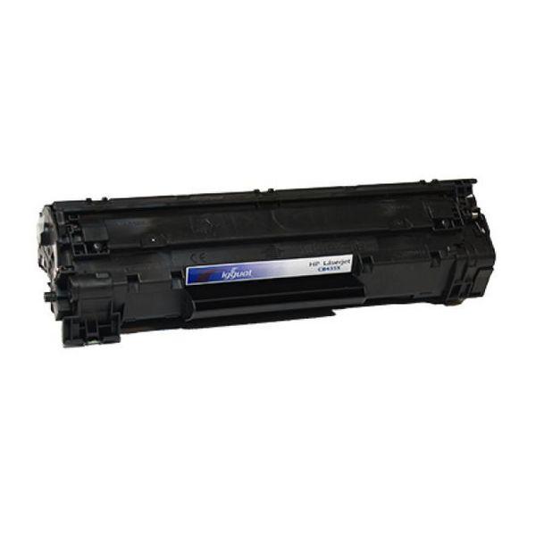 iggual Recklirani Toner HP CB435X Črni