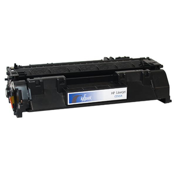 iggual Recklirani Toner HP C505A Črni