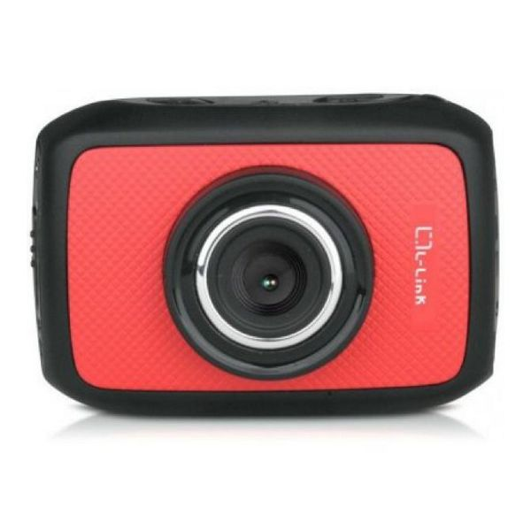 L-link Športna kamera HD 720p 30fps 5Mpx Rdeča