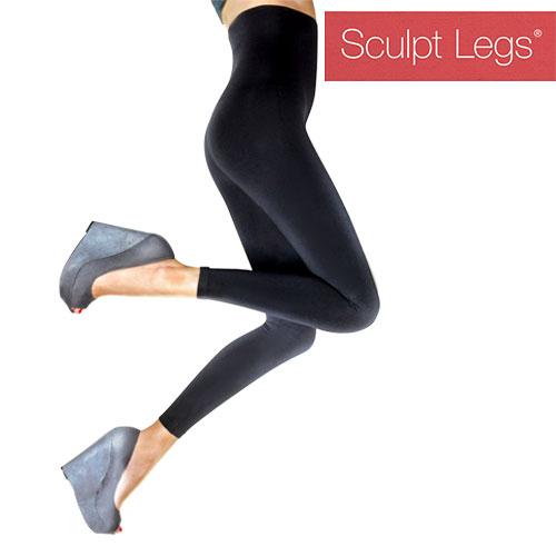 Sculpt Legs Leggins za Oblikovanje Postave - L