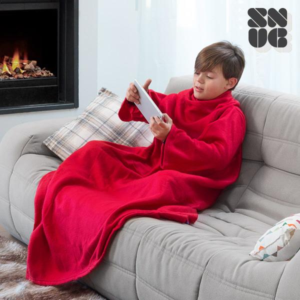 Batamanta Infantil Snug Snug Kids Extra Suave (Rojo)