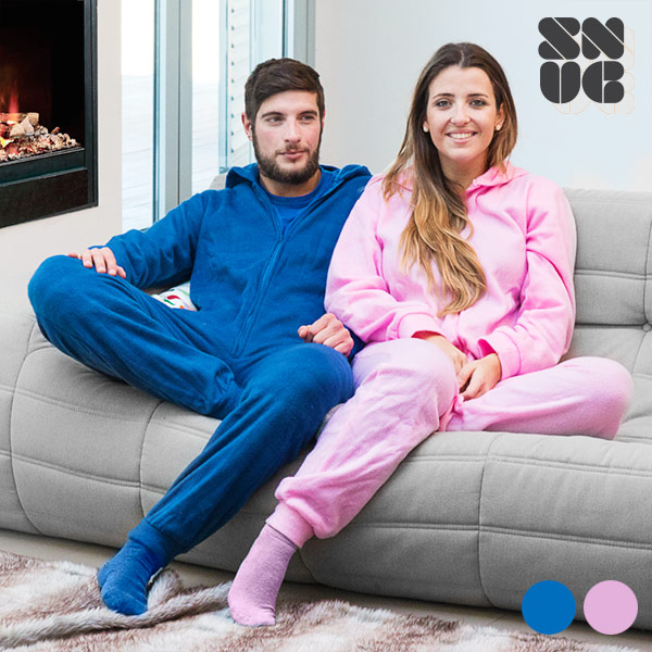 Batamanta Pijama Snug Snug (MEDIANA - Azul - )