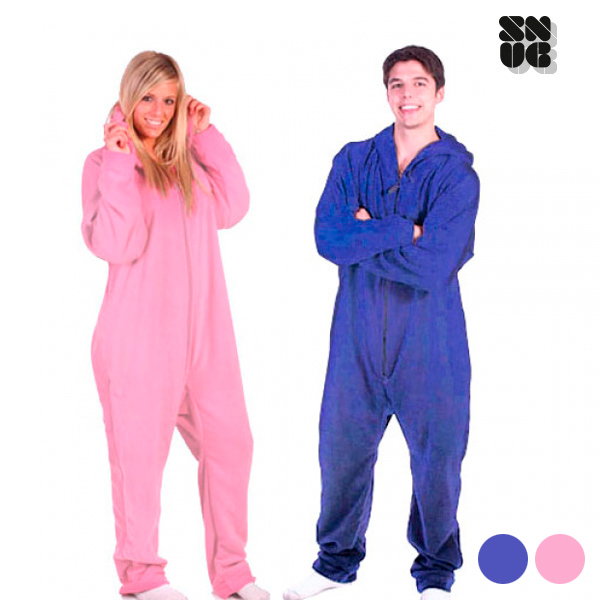 Snug Snug Odeja z Rokavi Pižama - Modra - M