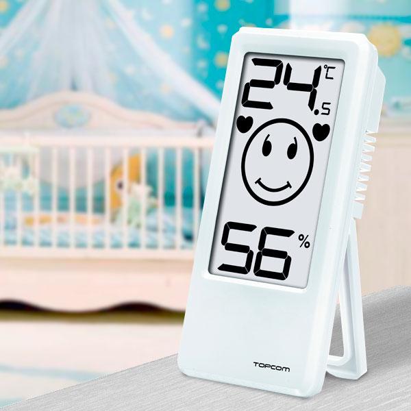 TopCom TH4675 Szobai Hőmérő és Higrométer