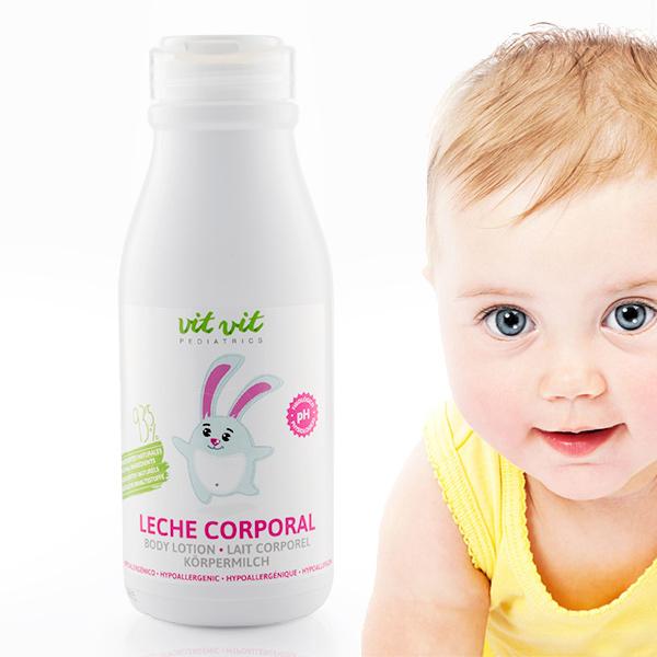 Mleko za Telo za Otroke