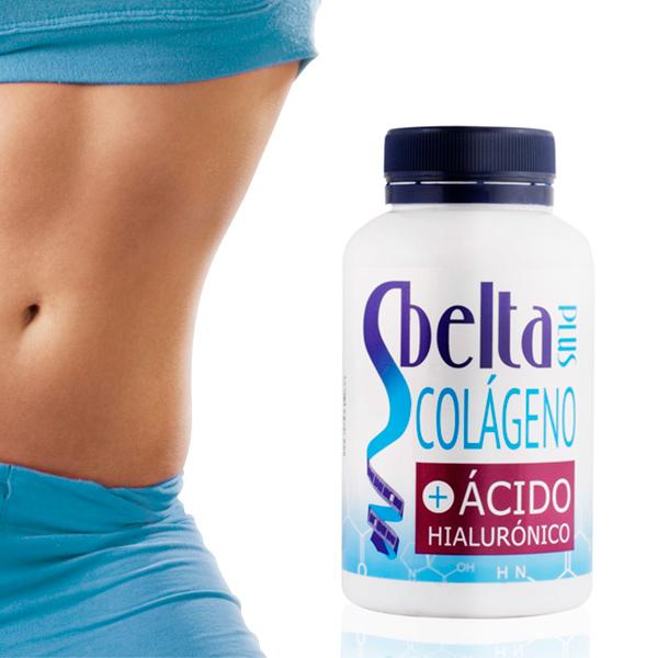Complément Alimentaire avec Collagène et Acide Hyaluronique Sbelta Plus (120 comprimés)