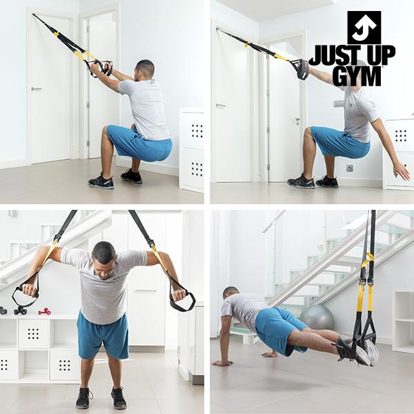 Just Up Gym Mellkas Expander Felfüggesztéses Edzésrendszerhez