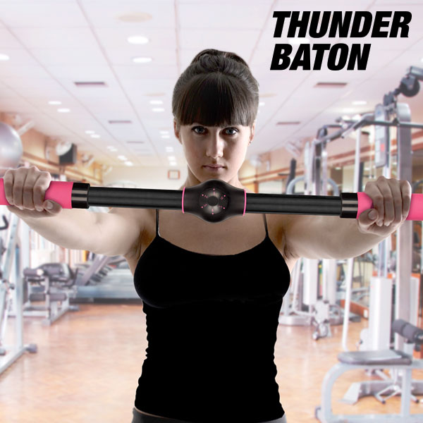 Barre d'exercices rehausse-poitrine Thunder Baton