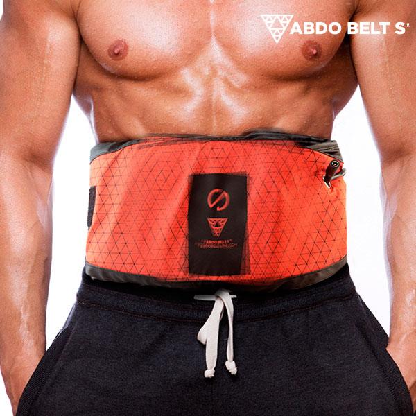 Cinturon Vibratorio con Efecto Sauna Abdo Belt S G1500115