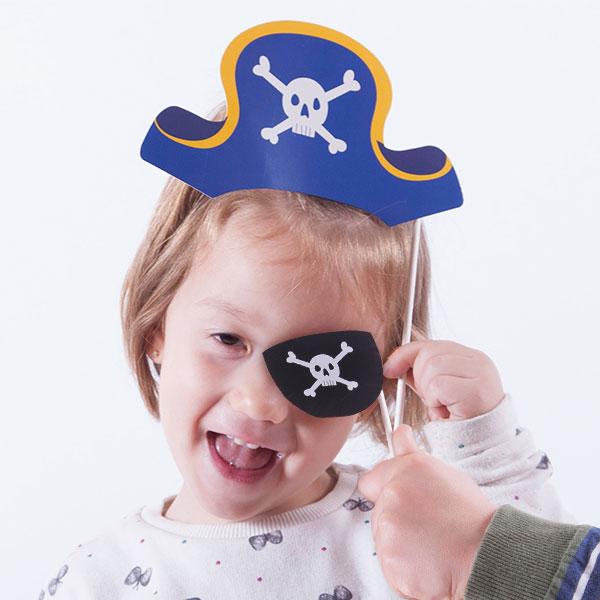 Th3 Party Accesori Pirata per Foto Divertenti (confezione da 12)
