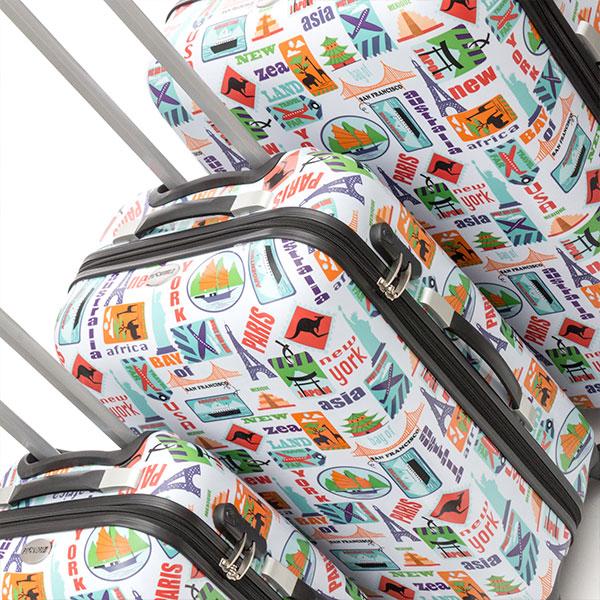 Fashion Bőröndszett (3 darabos)