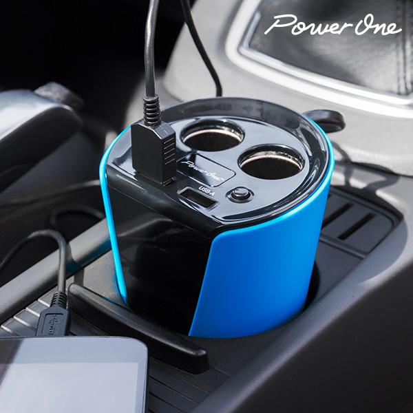 Power One Autós Töltő Adapter